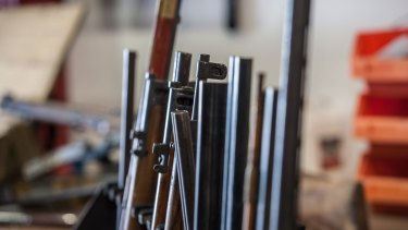 800 firearms were handed in to Canberra police during this year's national amnesty.