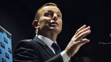 "Prime Minister Tony Abbott says the decision to dump the East West Link project was ""absolutely crazy""."