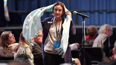 LNP member Brooke Patterson called for a burqa ban, and a ban on girls under the age of 10 wearing hijabs.
