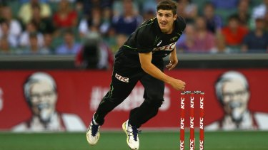Sean Abbott made his Twenty20 and one-day international debut for Australia just over a month ago.