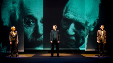 Brian Greene's theatrical work 'Light Falls' explores the highs and lows of Albert Einstein.