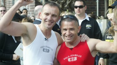 Warren Sonin and Gavin Atkins were the first gay couple to appear on primetime reality television on The Block in 2003.