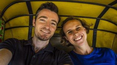 Sydney wildlife photographers Chris Bray and Jess Bray.