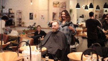 The Bearded Man is part of the boom in old-school barber shops.