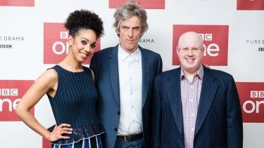 Pearl Mackie, Peter Capaldi and Matt Lucas star is series 10 of Doctor Who.