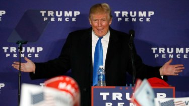 """Trump has """"lowered the bar so much that anything can seem sane in comparison"""": Naomi Klein."""