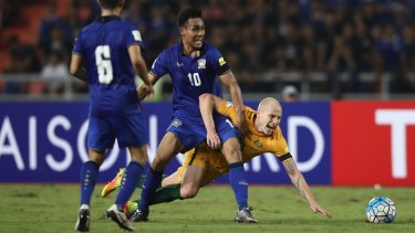 The Socceroos take on Thailand at AAMI Park on September 5 in their last World Cup qualifier.