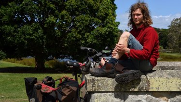 Sam Mitchell is the Australian Geographic Society's Young Adventurer of the Year.
