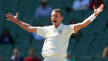 Peter Siddle impressed on the first day of the game against Tasmania.