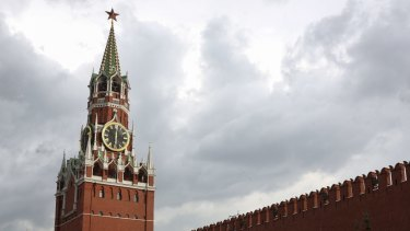 The Kremlin in Moscow. After the Cold War, Russia remains active in espionage.