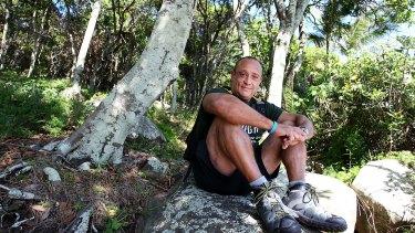 Matt Hall prepares to walk the Kokoda Trail for charity.