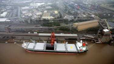 Newcastle: home to the world's biggest coal export port.