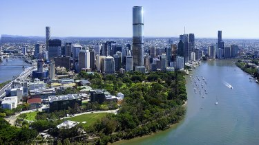 Skytower will be Brisbane's tallest residential building.