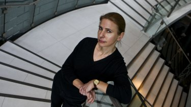 Lionel Shriver at the  Sydney Writers' Festival in 2010.