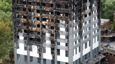 Police had previously said about 80 people died in the blaze, which tore through the 24-storey tower in west London in the middle of the night.