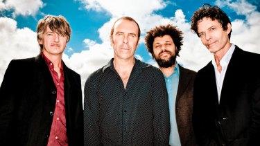 Neil Finn, Nick Seymour, Matt Sherrod and Mark Hart in 2010.