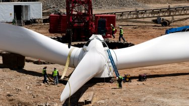 Grounded: Just one renewable energy project has been approved in the past six months.