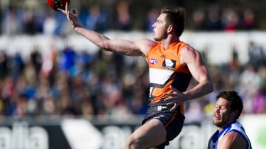 Jed Lamb is looking to regain his place in the Giants forward line.