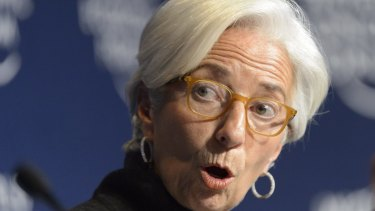 IMF chief Christine Lagarde: The fund's handling of the Greek debt drama raises questions who is in charge of the powerful organisation.