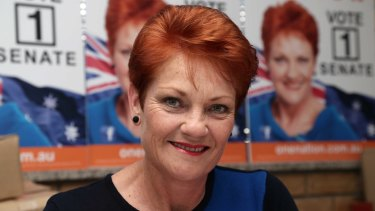 One Nation fielded 27 candidates in the election, including Pauline.