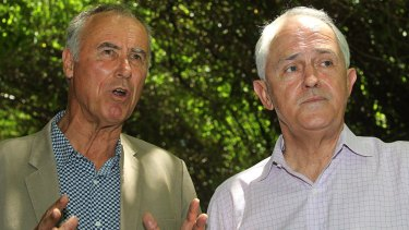 Liberal candidate John Alexander and Prime Minister Malcolm Turnbull campaign in Bennelong.