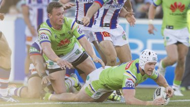 Raiders skipper Jarrod Croker says his relationship with referees has improved in his second year in charge.
