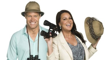 <i>I'm A Celebrity … Get Me Out Of Here</i> is hosted by Dr Chris Brown and Julia Morris.