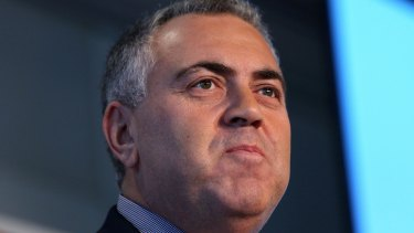 Wishful thinking?: Treasurer Joe Hockey is determined to get more tax out of multinationals engaged in profit-sharing.