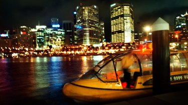 Would Perth benefit from water taxis, like those in Sydney's Darling Harbour?