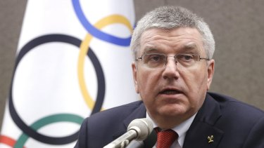 Hung out to dry? International Olympic Committee President Thomas Bach has said the organisation is not responsible for Yulia Stepanova's safety.