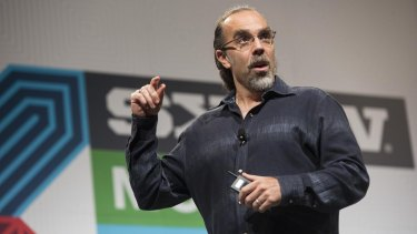Astro Teller, who oversees Google X, speaks at the South by Southwest conference.