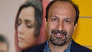 Oscar-winning Iranian director Asghar Farhadi.