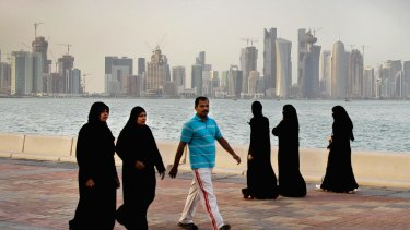 Qatar is facing a diplomatic crisis with other Arab nations.