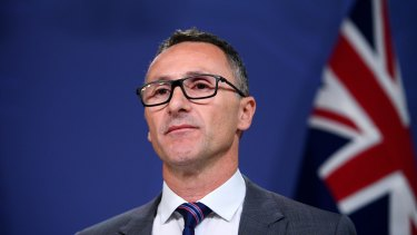 "Greens Leader Richard Di Natale says the ""change the date"" movement will be one of his top priorities for 2018."