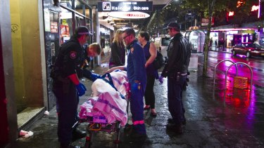 Kings Cross: Medical experts say hospital admissions have dropped sharply in lockout zones.