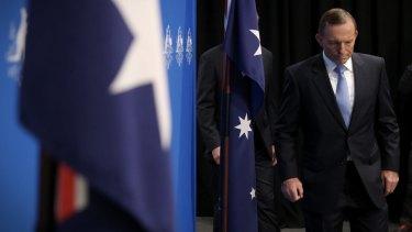 Prime Minister Tony Abbott on Monday.