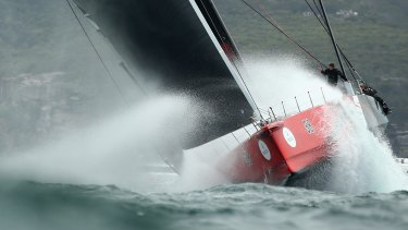 Winning spirit: James Spithill will take Comanche's Sydney to Hobart success into next year's America's Cup defence.