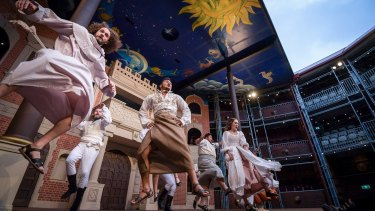 The Pop-up Globe stages Shakespeare's plays as they were intended.