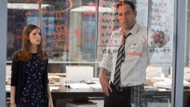 Accountants Christian Wolff (Ben Affleck) and Dana Cummings (Anna Kendrick) investigate suspicious losses at a prosthetics company.