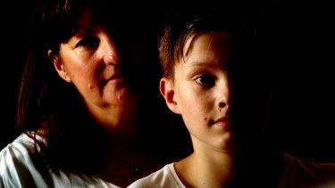Karen Bowness is worried about the effect of a vaccination on her son Taj, 13.