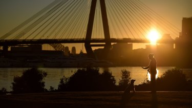 Sunday is set to break the record for warmest July day in Sydney.