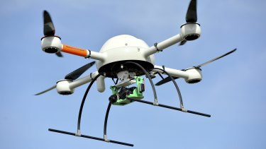 Racing Queensland began testing drones last year.