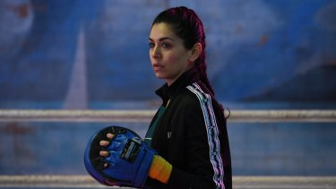 Nicole Chamoun says she has become ''quite obsessed'' with boxing after learning the sport for On the Ropes.