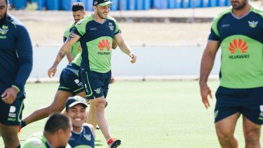 Canberra Raiders acting captain Josh Hodgson has surprised Ricky Stuart since he arrived at the club.