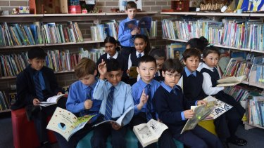 Students at St Joachim's Catholic Primary School in Lidcombe have made great strides in NAPLAN results.