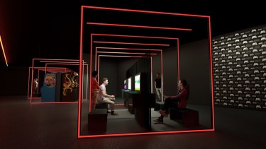 The refurbishment at ACMI includes a new home for videogames.