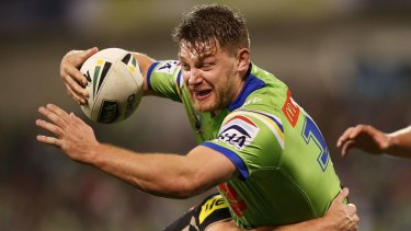 "Canberra Raiders coach Ricky Stuart says Elliott Whitehead is a ""real footy player""."