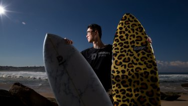 Justin Tang, chief technology officer of Disrupt Sports, represents a new breed of surfboard salesman with ICT skills in high demand across a wide range of industries.