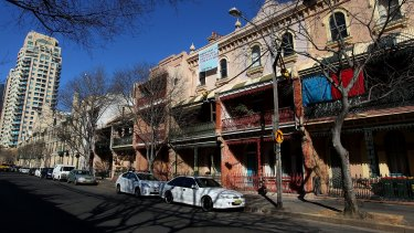 The sell-off of public housing at Millers Point boots out the poor to make way for the rich.