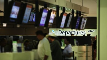All outbound passengers are now checked against security databases upon check-in.